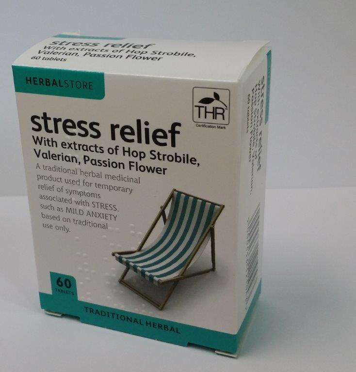 Herbal Store Stress Relief Tablets