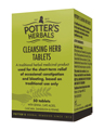 Potter's Cleansing Herb Tablets