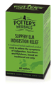 Potter's Slippery Elm Indigestion Relief
